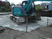 地盤改良工事 「表層改良工法」